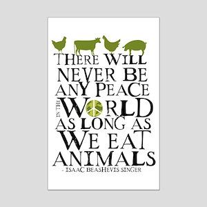 Never Be Peace Mini Poster Print