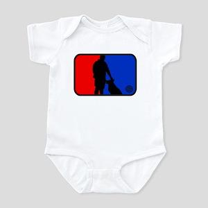 K9 bullseye Infant Bodysuit