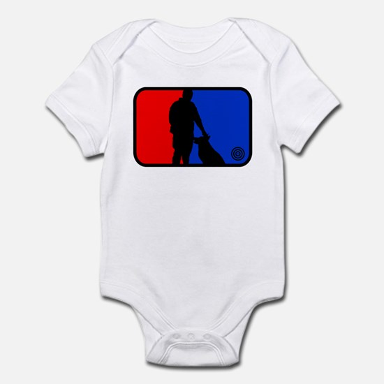 K9 bullseye Infant Bodysuit