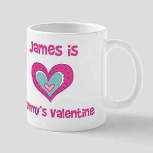 James Is Mommy's Valentine Mug