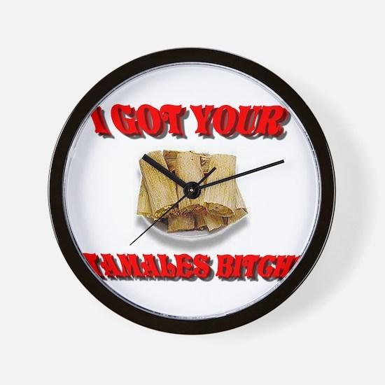 Tamales ? Wall Clock