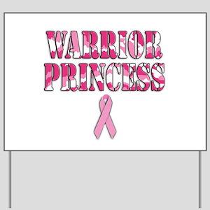 Warrior Princess Yard Sign
