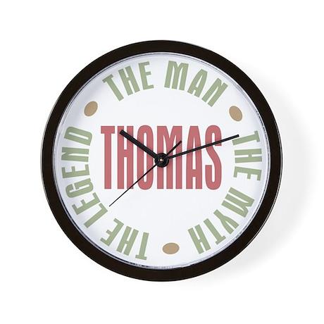 Thomas Man Myth Legend Wall Clock