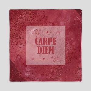 CARPE DIEM Queen Duvet