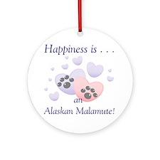 Happiness is . . . an Alaskan Malamute Keepsake (R