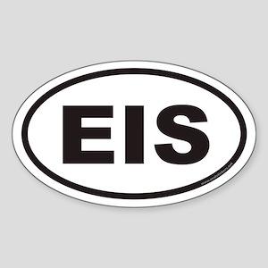 EIS Euro Oval Sticker
