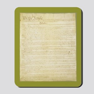 The Us Constitution Mousepad