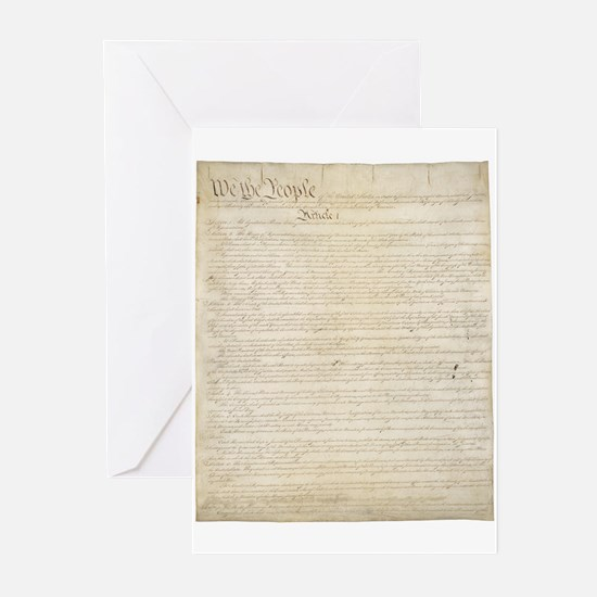 The Us Constitution Greeting Cards (Pk of 10)
