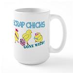 Wild Chicks Large Mug