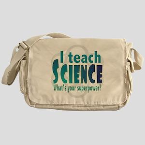 I teach Science Messenger Bag