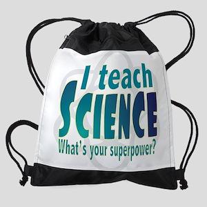 I teach Science Drawstring Bag