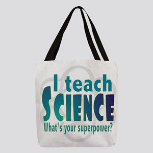 I teach Science Polyester Tote Bag