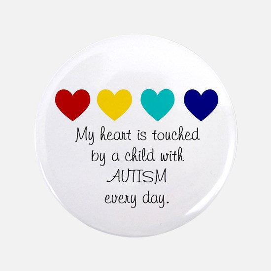 """My Heart... 3.5"""" Button (100 pack)"""