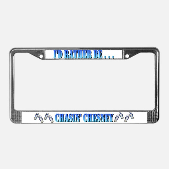 Funny Pirate License Plate Frame