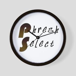 Phresh Select Wall Clock