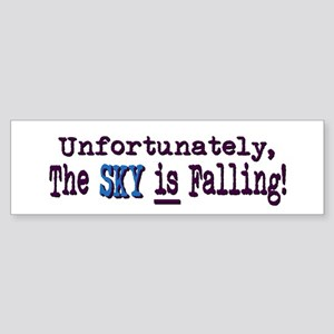 The Sky IS Falling Bumper Sticker