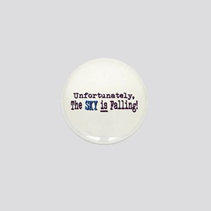 The Sky IS Falling Mini Button