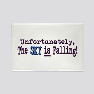 The Sky IS Falling Rectangle Magnet