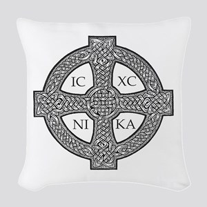 Purdy Cross Woven Throw Pillow