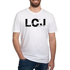 Lodz LCJ Poland Airport Black Des. Shirt