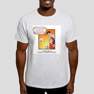 Shih Tzu's Decoy Ash Grey T-Shirt
