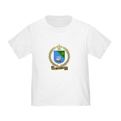 BORDELEAU Family Crest T