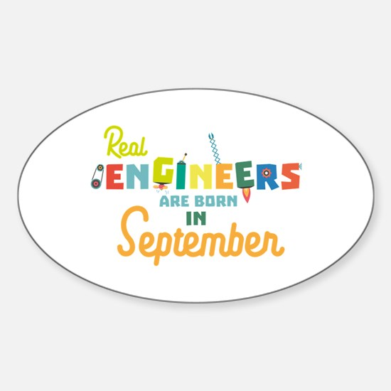 Engineers are born in September Ct500 Decal