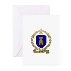 BOSSE Family Crest Greeting Cards (Pk of 10)