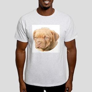 Dogue De Bordeaux Puppy Ash Grey T-Shirt