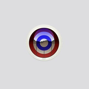 Captain Curl! Mini Button
