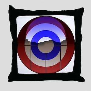 Captain Curl! Throw Pillow