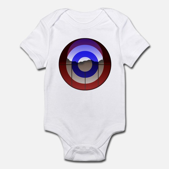 Captain Curl! Infant Bodysuit