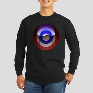 Captain Curl! Long Sleeve Dark T-Shirt