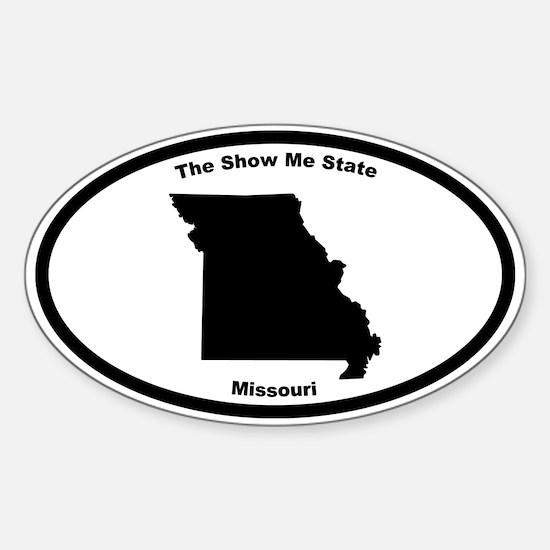 Missouri Nickname Oval Decal