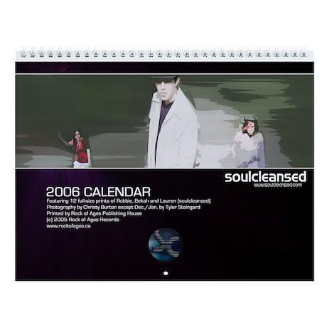 Soulcleansed 2006 Calendar By Soulcleansed