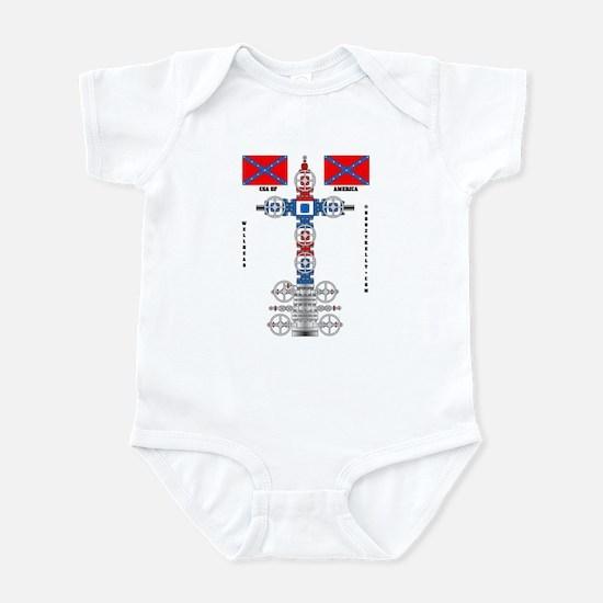 Confederate States Wellhead Infant Bodysuit