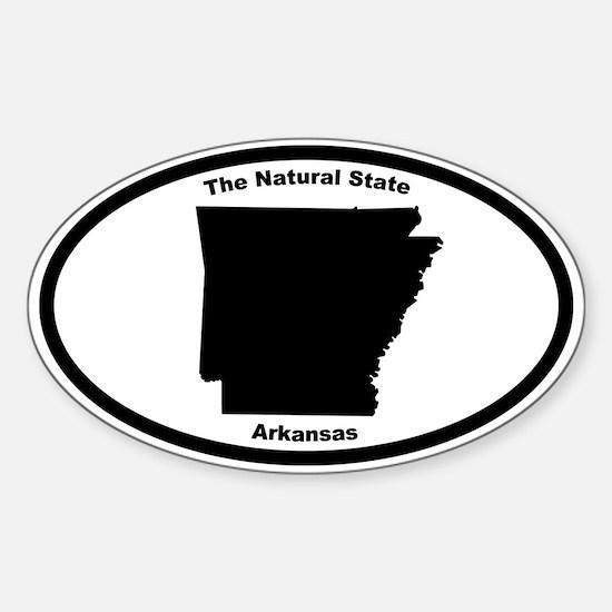 Arkansas Nickname Oval Decal