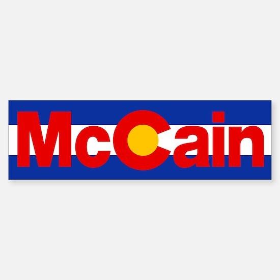Colorado for McCain Bumper Bumper Bumper Sticker
