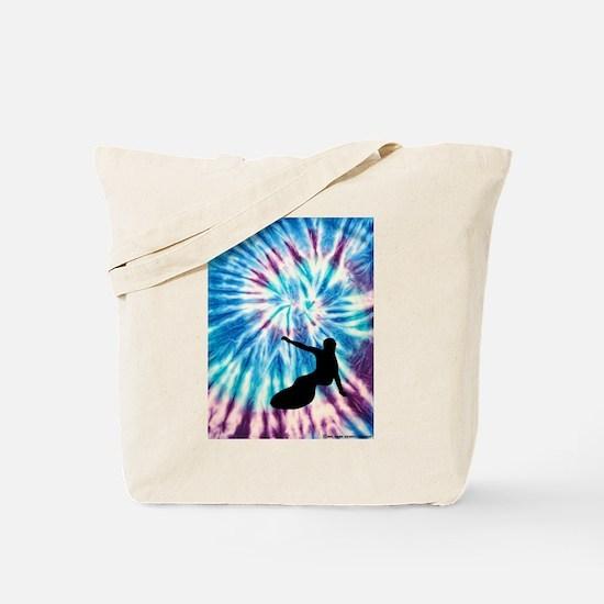 Cool Water ski art Tote Bag