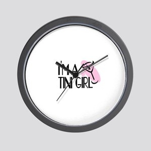 I'm a Martini Girl Wall Clock