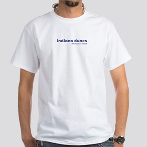 Indiana Dunes White T-Shirt