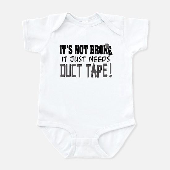 Not Broke - Duct Tape Infant Bodysuit