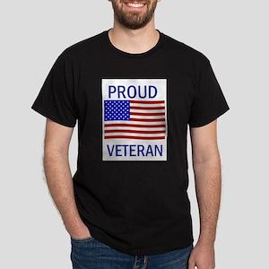 Proud Veteran Dark T-Shirt