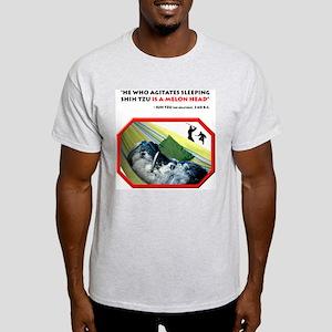 Sleeping Shih Tzu Ash Grey T-Shirt