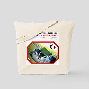 Sleeping Shih Tzu Tote Bag