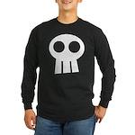Skull Long Sleeve Dark T-Shirt