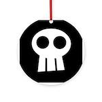 Skull Ornament (Round)