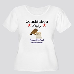 Constitution Women's Plus Size Scoop Neck T-Shirt