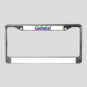Gatheist License Plate Frame