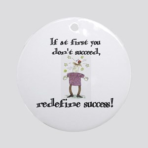 Success Ornament (Round)